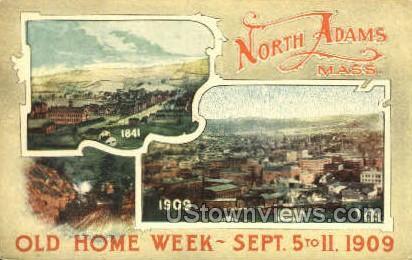 Old Home Week - North Adams, Massachusetts MA Postcard