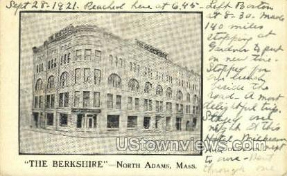 The Berkshire - North Adams, Massachusetts MA Postcard