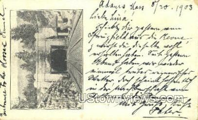 Hoosac Tunnel - North Adams, Massachusetts MA Postcard