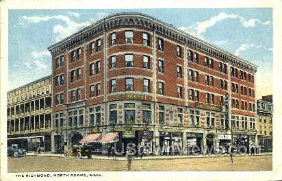 The Richmond - North Adams, Massachusetts MA Postcard