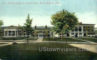 Taconic Hall, State Normal School - North Adams, Massachusetts MA Postcard