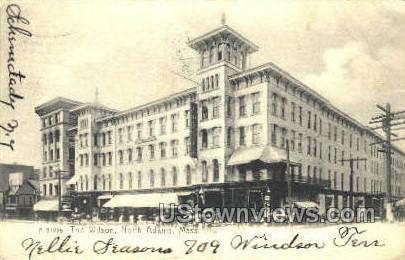 The Wilson - North Adams, Massachusetts MA Postcard