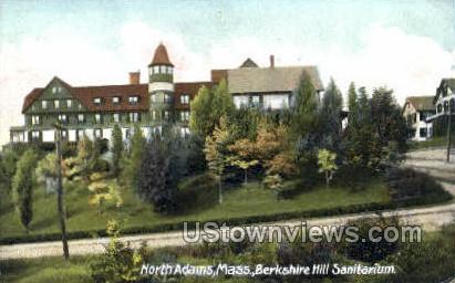 Berkshire Hill Sanitarium - North Adams, Massachusetts MA Postcard
