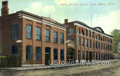 Hunter Machine Works - North Adams, Massachusetts MA Postcard