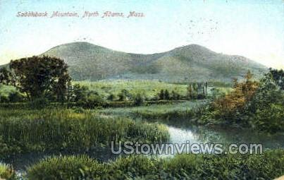 Saddleback Mountain - North Adams, Massachusetts MA Postcard