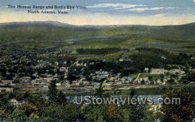 Hoosac Range - North Adams, Massachusetts MA Postcard