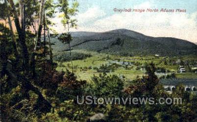 Graylock Range - North Adams, Massachusetts MA Postcard