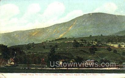 Hoosac Valley Railroad - North Adams, Massachusetts MA Postcard