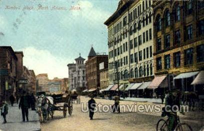 Kimbell Block - North Adams, Massachusetts MA Postcard