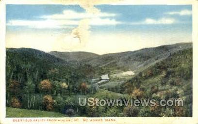 Deerfield Valley - North Adams, Massachusetts MA Postcard