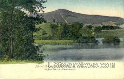 Mount Greylock - North Adams, Massachusetts MA Postcard