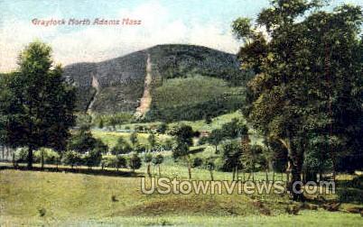 Graylock Mountain - North Adams, Massachusetts MA Postcard