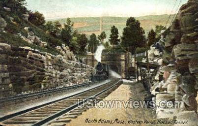 Western Portal, Hoosac Tunnel - North Adams, Massachusetts MA Postcard