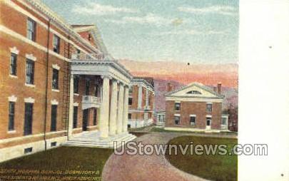 Dormitory - North Adams, Massachusetts MA Postcard