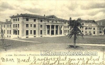 Presidents Residence - North Adams, Massachusetts MA Postcard