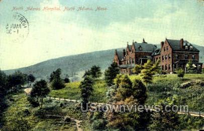 North Adams Hospital - Massachusetts MA Postcard
