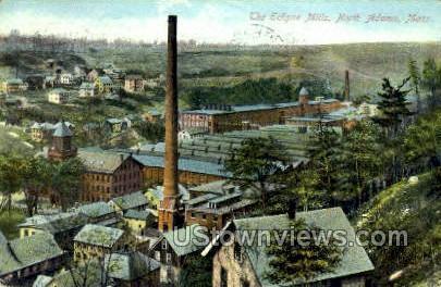 The Eclipse Mills - North Adams, Massachusetts MA Postcard