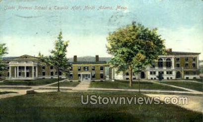 Taconic Hall - North Adams, Massachusetts MA Postcard