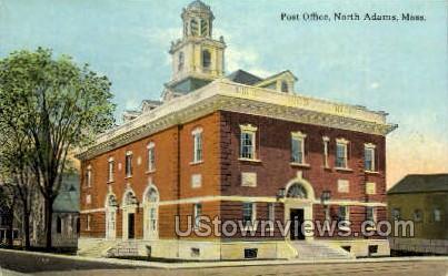 Post Office - North Adams, Massachusetts MA Postcard