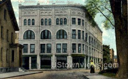 The Berkshire Hotel - North Adams, Massachusetts MA Postcard