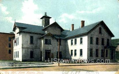 City Hall - North Adams, Massachusetts MA Postcard