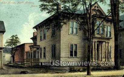 Elks Home - North Adams, Massachusetts MA Postcard