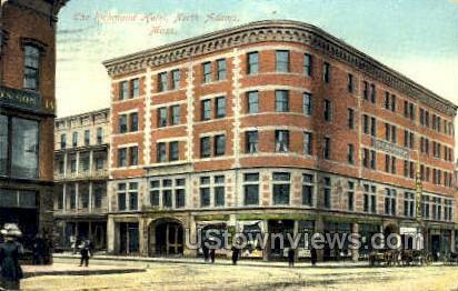 The Richmond Hotel - North Adams, Massachusetts MA Postcard