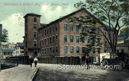 Waterhouse & Howard Mill - North Adams, Massachusetts MA Postcard