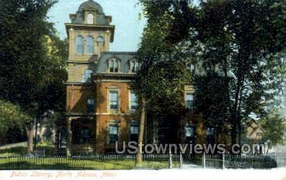 Public Library - North Adams, Massachusetts MA Postcard