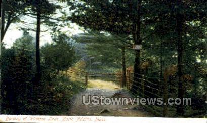 Dowlin Block - North Adams, Massachusetts MA Postcard