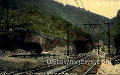 East Portal, Hoosac Tunnel - North Adams, Massachusetts MA Postcard