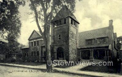 Universalist Church - North Adams, Massachusetts MA Postcard