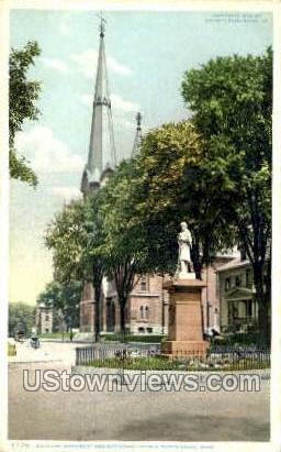 Methodist Church - North Adams, Massachusetts MA Postcard