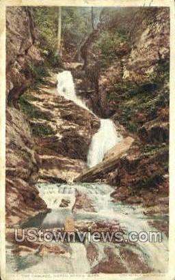 The Cascade - North Adams, Massachusetts MA Postcard
