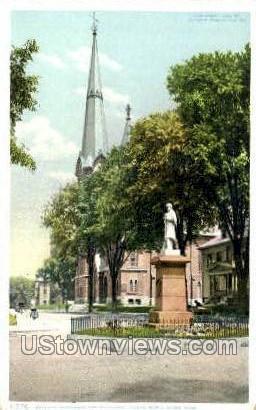 Soldiers' Monument - North Adams, Massachusetts MA Postcard