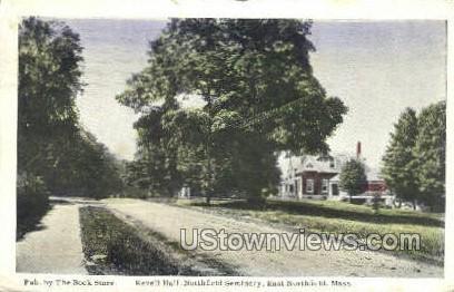 Revell Hall - East Northfield, Massachusetts MA Postcard