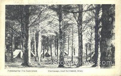 The Campus - East Northfield, Massachusetts MA Postcard