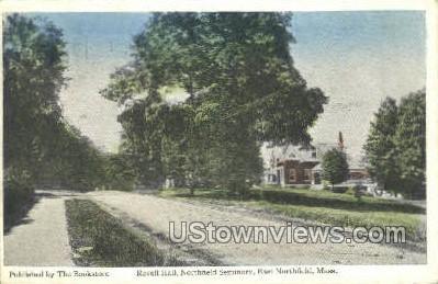 Revell Hall, Northfield Seminary - East Northfield, Massachusetts MA Postcard