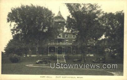 East Hall - East Northfield, Massachusetts MA Postcard