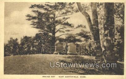 Round Top - East Northfield, Massachusetts MA Postcard