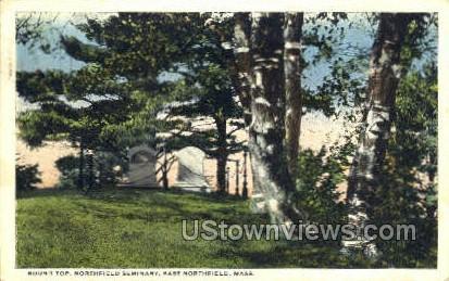 Round Top, Northfield Seminary - East Northfield, Massachusetts MA Postcard