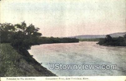 Connecticut River - East Northfield, Massachusetts MA Postcard