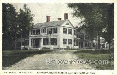 The Homestead - East Northfield, Massachusetts MA Postcard