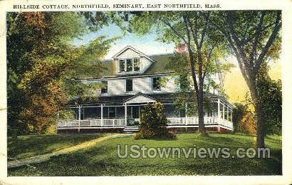 Hillside Cottage - East Northfield, Massachusetts MA Postcard