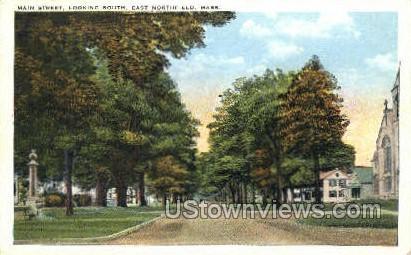 Main St. - East Northfield, Massachusetts MA Postcard