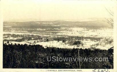 Real Photo The Northfield - East Northfield, Massachusetts MA Postcard