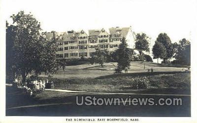 Real Photo - The Northfield - East Northfield, Massachusetts MA Postcard