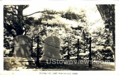 Real Photo - Round Top - East Northfield, Massachusetts MA Postcard