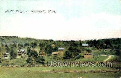 Rustic Ridge - East Northfield, Massachusetts MA Postcard
