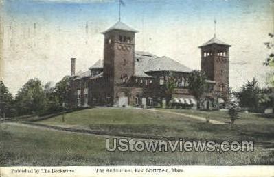 The Auditorium - East Northfield, Massachusetts MA Postcard